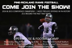 RAM Football Open House & Youth Camp