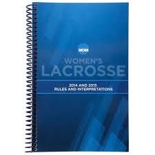 NCAA Women's Lacrosse Stats Manual 2014