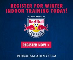 Red Bulls Winter Training Programs