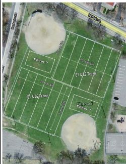 Cochituate Field Location