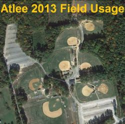 2013 Atlee Field usage document