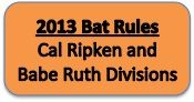2013 Bat Rules: Cal Ripken and Babe Ruth