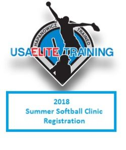 2018 Summer Softball Clinic