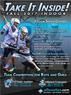 Fall 2017 Indoor by All West Lacrosse