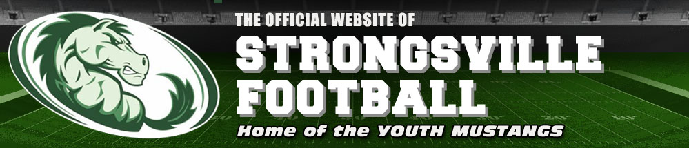 The Strongsville Football League, Football, Score, Strongsville Youth  Sports Fields