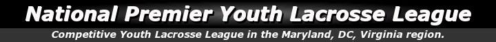 National Premier Youth Lacrosse League, Lacrosse, Goal, Field