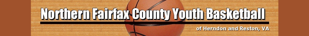 Northern Fairfax County Youth Basketball, Basketball, Point, Court