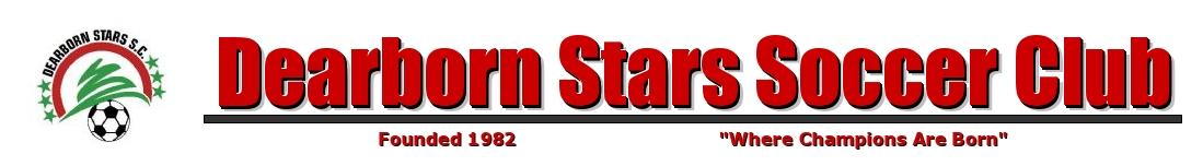 Dearborn Stars Soccer Club, Soccer, Goal, Field