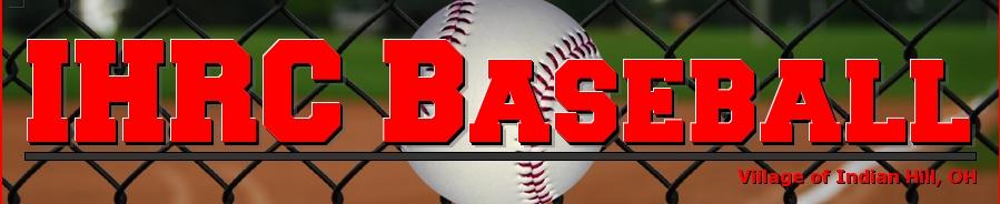 Indian Hill Rec Commission - Baseball, Baseball, Run, Field
