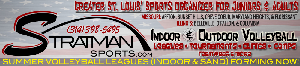 Stratman Sports | Greater St. Louis Volleyball Organizer - Affton, Sunset Hills, Columbia, Belleville & More!, Volleyball, Goal, Court