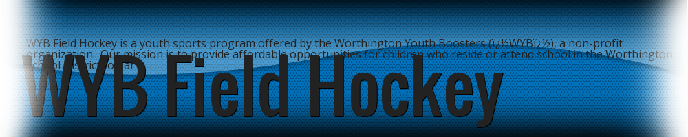 Worthington Youth Booster - Field Hockey, Field Hockey, Goal, Field