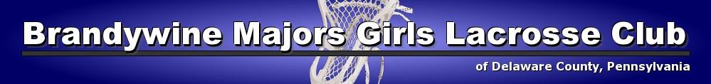 Brandywine Majors Girls Lacrosse Club, Lacrosse, Goal, Field