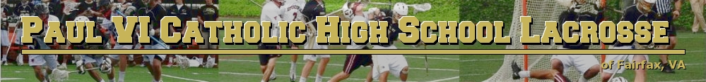 Paul VI Catholic High School Lacrosse, Lacrosse, Goal, Field