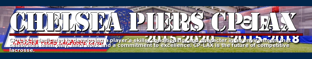 Chelsea Piers CP-LAX, Lacrosse, Goal, Field