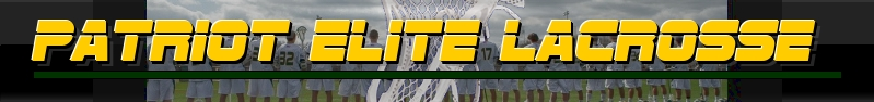 WM Patriot Elite Inc, Lacrosse, Goal, Field