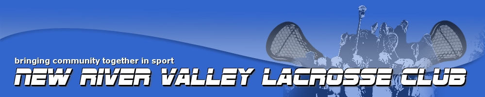 New River Valley Lacrosse Club, Lacrosse, Goal, Field