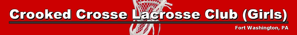 Crooked Crosse Girls Lacrosse Club, Lacrosse, Goal, Field