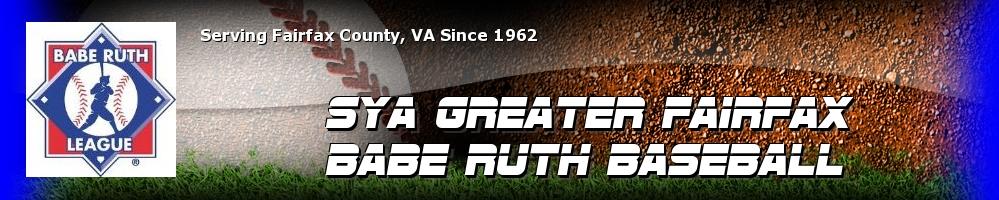 Greater Fairfax Babe Ruth, Baseball, Run, Field