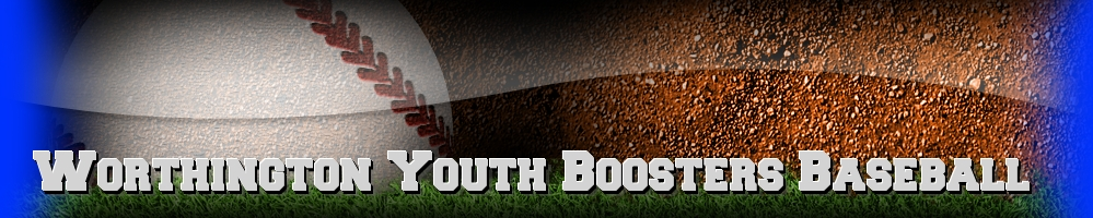 Worthington Youth Boosters - Baseball, Baseball, Run, Field