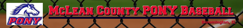 McLean County PONY Baseball, Baseball, Run, Field