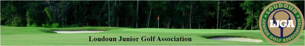 Loudoun Junior Golf Association, Golf, Score, Course