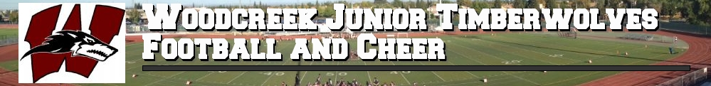 Woodcreek Junior Timberwolves Football and Cheer, Football, , Woodcreek High School