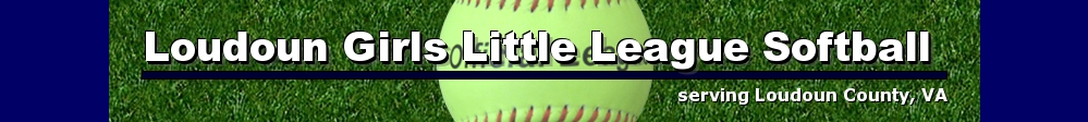 Loudoun Girls Little League Softball, Softball, Run, Field