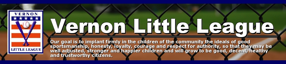 Vernon Little League, Baseball, Run, Field