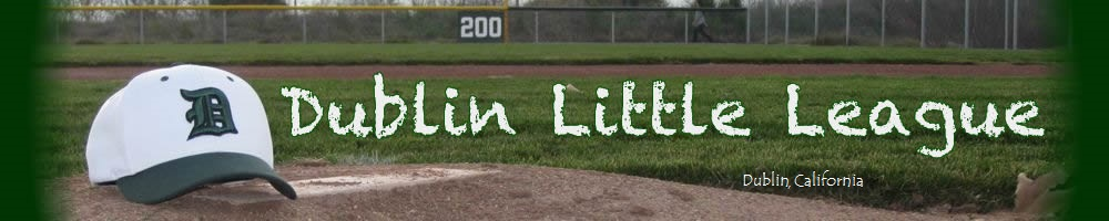 Dublin Little League, Baseball, Run, Field