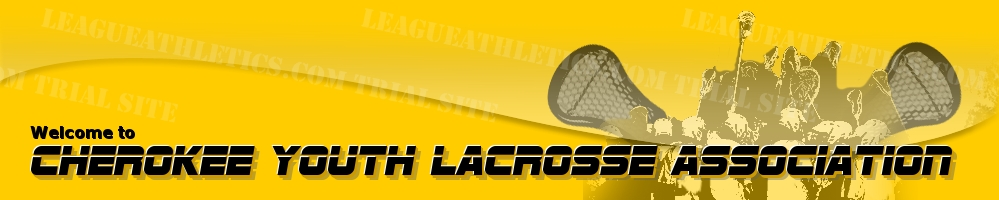 Cherokee Youth Lacrosse Association, Lacrosse, Goal, Field