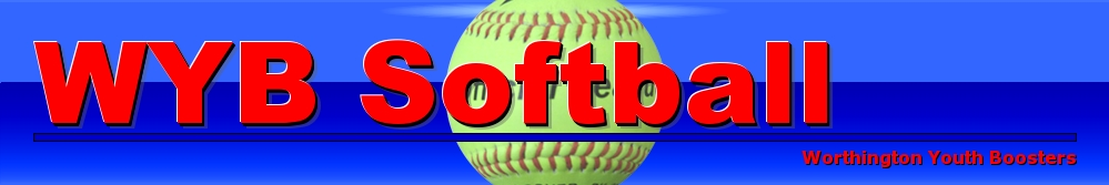 Worthington Youth Boosters - Softball, Softball, Run, Field