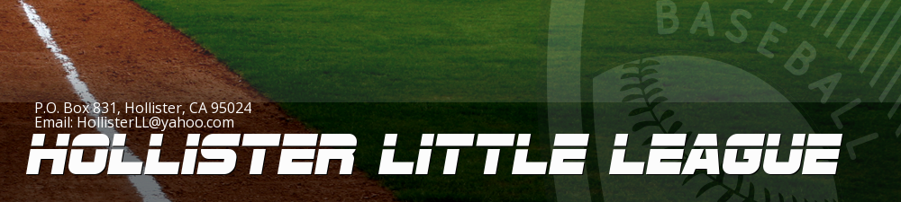 Hollister Little League, Baseball, Run, Field