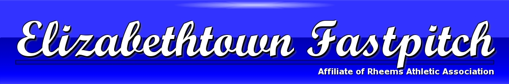 Elizabethtown Fastpitch - Softball, Softball, Run, Field