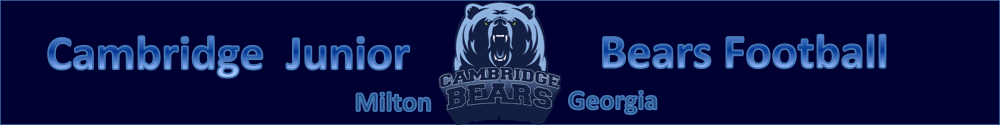 Cambridge Jr. Bears Football, Football, Touchdown, Field