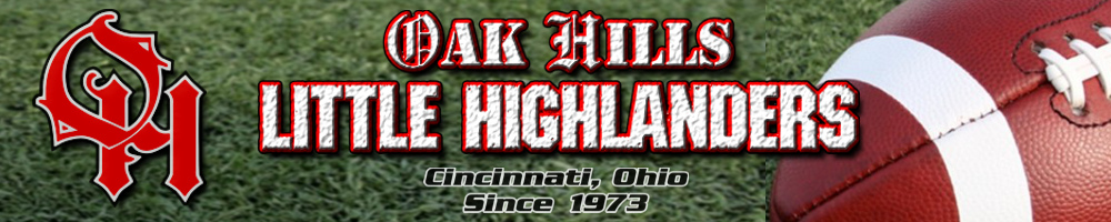 Oak Hills Little Highlanders, Football, Points, Field