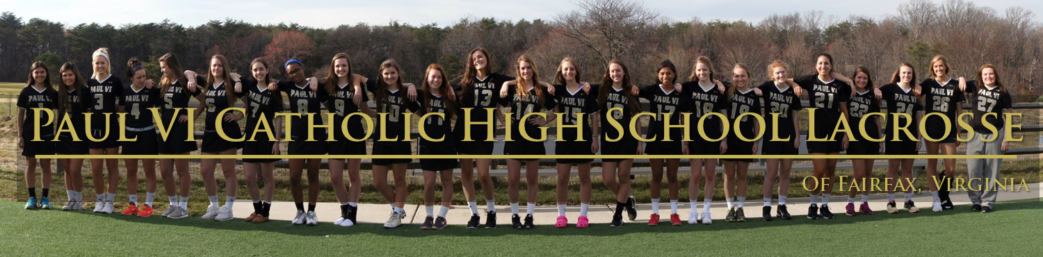 Paul VI Catholic HS Girls Lacrosse, Lacrosse, Goal, Field
