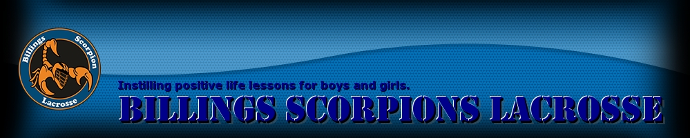 Billings Scorpion Lacrosse, Lacrosse, Goal, Field