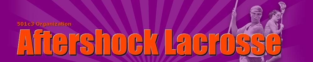 Aftershock Lacrosse, Lacrosse, Goal, Field