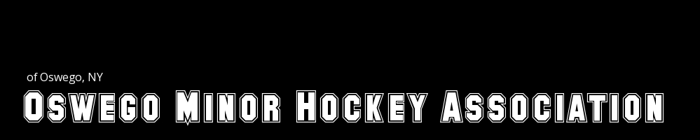 The Oswego Minor Hockey Association, Hockey, Goal, Rink