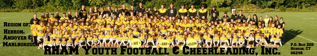 RHAM Youth Football And Cheerleading, Inc., Football, Goal, Field