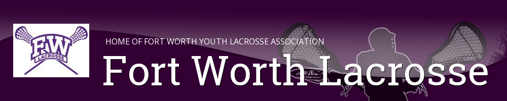 Fort Worth Youth Lacrosse Association, Lacrosse, Goal, Field