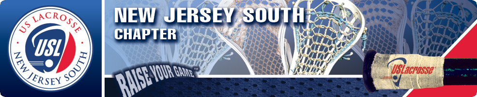 New Jersey South Chapter of US Lacrosse, Lacrosse, Goal, Field