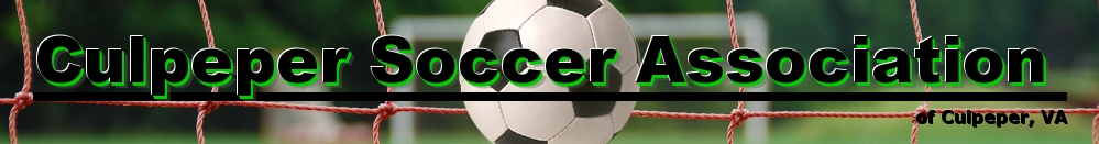 Culpeper Soccer Association, Soccer, Goal, Field