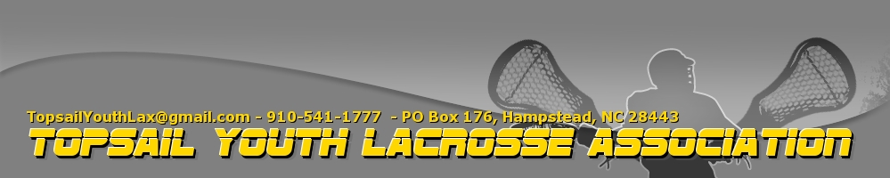Topsail Youth Lacrosse Association, Lacrosse, Goal, Field