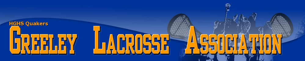 Greeley Lacrosse Association, Lacrosse, Goal, Field
