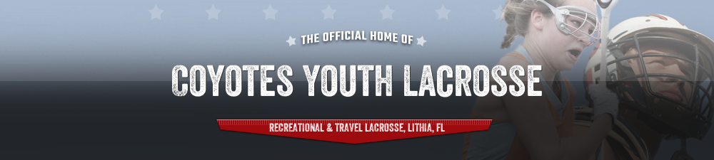Coyotes Youth Lacrosse, Lacrosse, Goal, Field