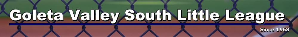 Goleta Valley South Little League, Baseball, Runs, Field