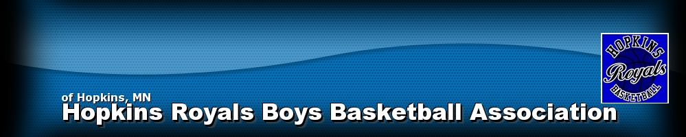 Hopkins Royals Boys Basketball Association, Basketball, Point, Court