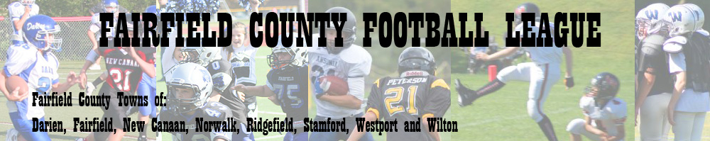 Fairfield County Football League, Football, Point, Field