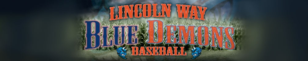 Lincolnway Blue Demons, Baseball, Run, Field